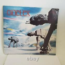 Ensemble Cinefex 2, 3 Et 13 Vintage Star Wars Cinefex