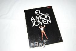 Espagne El Amor Joven Eva Ionesco 1977 Hamilton Bourboulon Rarissime
