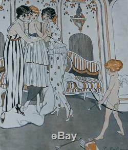 Exrare 4 X 1915 Orig Scena Illustrata Magazines Art Nouveau Art Déco Amazing