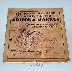 Extrêmement Rare! Seulement 6 Exist Le Marché Arizona Copper Magazine Couverture Métal