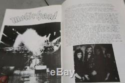 Fan Club # 1 Misfits Fanzine Diy L'artefact Rare Danzig Damned Motorhead Punk