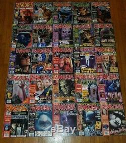 Fangoria Collection Magazine Lot Massif De 233 Questions D'horreur
