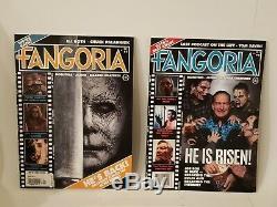 Fangoria Magazine Questions 1-5 Volume 2 N'a Jamais Eu Lieu! Tout Neuf