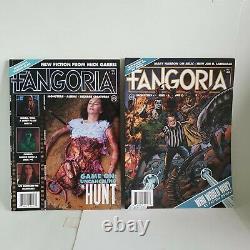 Fangoria Magazine Vol 2 Tous Les Numéros 1 -11 Neuf