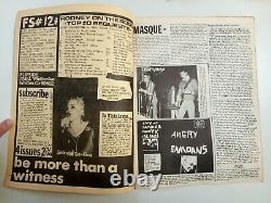 Flipside # 12 (1979) La Punk Zine, Classe Moyenne, Weirdos, Joan Jett, Screamers