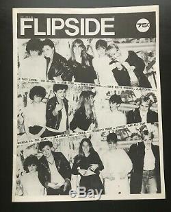Flipside Fanzine Numéro # 13 Magazine Go Go Dils Alley Cats Sandy Pearlman