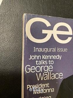 George Magazine Numéro 1ère Édition Inaugurale 1995 Jfk Jr Cindy Crawford Madonna