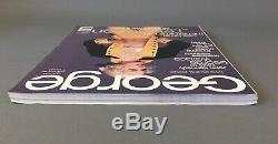 George Magazine, Premier Numéro / Premier, Cindy Crawford Couverture, Madonna Inside