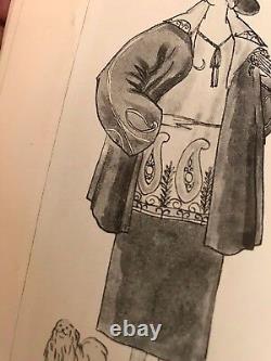 Georges Lepape Vionnet Lanvin Benito Poiret Paris Vogue Magazine Septembre 1921