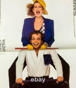 Gia Carangi Couverture Uk British Vogue Magazine 1er Avril 1979 Vtg Chloe Anna Anderson