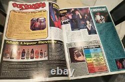 Grand Frère Magazine Numéro 8 1993 Spike Jonze Étrange Skateboard Rare Aveugle