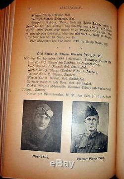 Hallingen, Vol Norwegian American Magazine Bd. 1917-1920, La Première Guerre Mondiale Hallingdal
