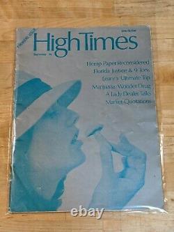 Hautes Heures Magazine Premiere Numéro #1 Argent De L'été 1974