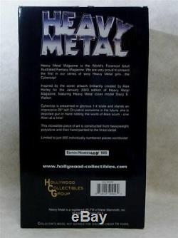 Heavy Metal Magazine Statue De Cybercop Hcg 2013 Première Édition 20 Le 408/600