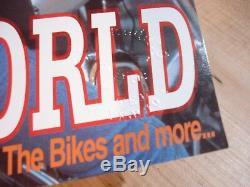 Hells Angels Windsor Les Grands Magazines De La Machine Rouge N ° 1 À 4 Estampillés Par Ted Rare
