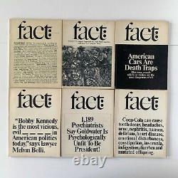 Herb Lubalin 21 Issues Fact Magazine Ralph Ginzburg Graphic Design Typographie