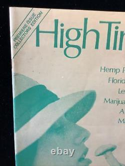 High Times Magazine 37 Numéro Lot Summer'74 (1er Numéro) Déc.