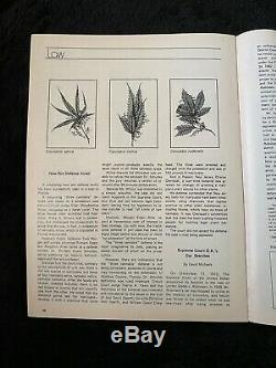 High Times Magazine Premier Edition Edition Collector Numéro 1 1974