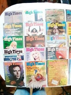 High Times Magazines Première Édition #1 #30