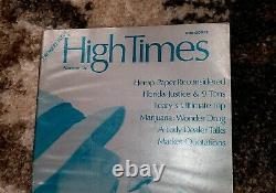 High Times Premier Issue Summer 74' Version