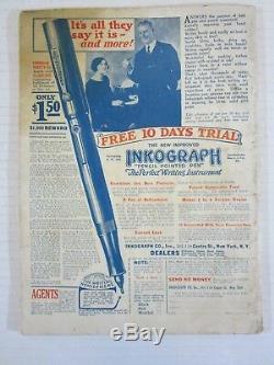 Histoires Épicées Rares Décembre 1929 Volume 3 No 1 Vg Scare Grande Dépression Mag