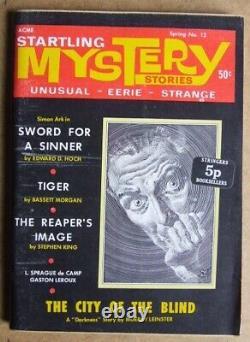 Histoires Mystères N° 12 (1969). La 2e Apparition De Stephen King Dans L'imprimé