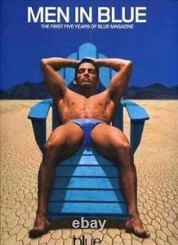 Hommes En Blue Cinq Premières Années (pas Seulement) Blue Magazine 2000 Gays Hommes 9780957817784