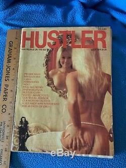 Hustler Magazine Juillet 1974 Ouverture Du Premier Vintage Edition