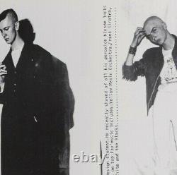 I-d Magazine Premier Numéro No. 1 1980 ID Terry Jones Droit Vers Le Haut Skinheads Punk Mod
