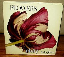 Irving Penn Flowers First Print 74 Color Photographs Hc Dj Vogue Magazine