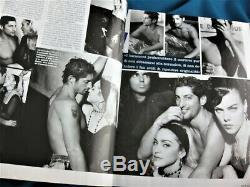Italien Madonna Moda Magazine Mars 1991 Super Complete Rare Non Promo