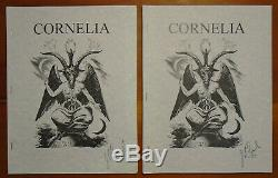 J. Edward Cornelius Signe Cornelia Magazine 20 Numéros Crowley Aleister