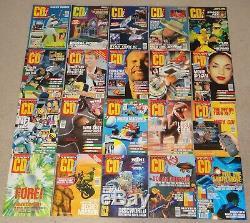 Joblot Rare Philips Cd-i Complete Set Numéros 1 À 20 1993-1996 Jeux Magazines