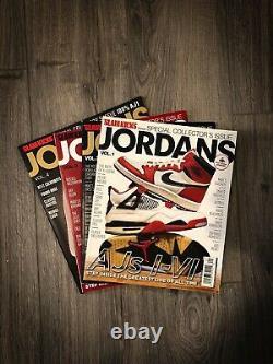 Jordans Volume 1 2 3 4 Slam Kicks Magazine Collectors Emission Sneakers Jordan 1