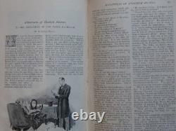 Journaux The Strand Magazine 1891-1896 Sherlock Holmes Rare