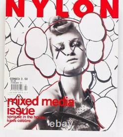 Kaws Stephen Sprouse Mark Borthwick Mandy Moore Nylon Magazine 2001 Février Vtg