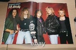 Kerrang Magazine Very Rare Numéro 436 Black Metal Mars 1993 Mint Condition