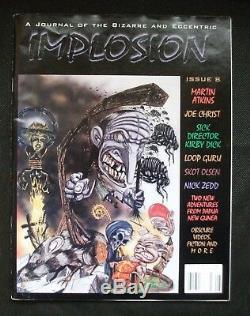 L'collaborateurs Implosion 8 Joe Hill 1er Ed 2 Publié Travaux Rarissimes