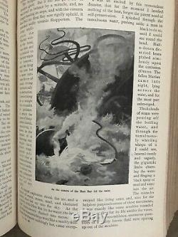 La Guerre Des Mondes Première Impression Pearsons Magazine Vol III & IV H. G. Wells