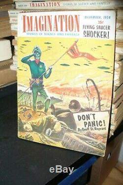 La Science-fiction Imagination Digest Édition 1952-1958 33 Questions