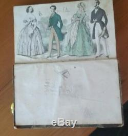 Lady De Graham & Magazine Gentleman. Vol 19. Juillet-décembre 1841. Première Année. Rare