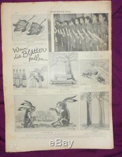 Le Magazine Allemand Ww2, Berliner Illustrierte Zeitung 29 Numéros De 1944