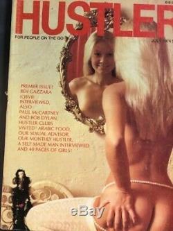 Le Magazine Hustler Juillet 1974