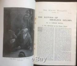 Le Strand Magazine Octobre 1903 Doyle Sherlock Holmes Short Story Sidney Paget Rare