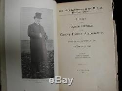 Le (matthew) Grant Family Magazine Lot Geneology Et Histoire Arthur Hastings