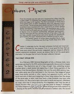 Les Arts De La Dépendance De La Lampe Opium Livre Pipe Plateau Oreiller Couteau Poids Jar