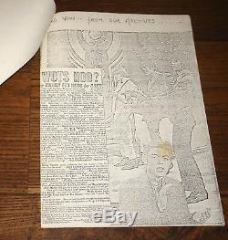 Londons Outrage 1976 Royaume-uni Punk Fanzine Clash Sex Pistols Jon Savage 1er 50 Photocopié