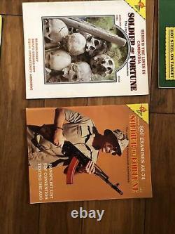 Lot Of 20 Complet De Novembre 1979 À Juin 1981 Soldaire De Fortune Magazines