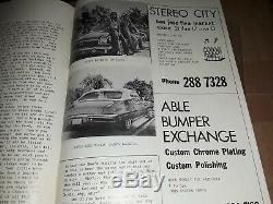 Lowrider Magazine # 1 Original Première Édition 1977 Réimpression 1er Numéro Mint Rare Oop
