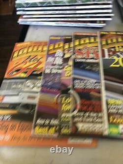 Lowrider Magazine Lot 47 Numéros Total 1995- 2001